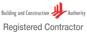 Only BCA registered contractors are allowed to build in Singapore