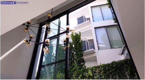 Largest uPVC Windows in the world in Singapore home