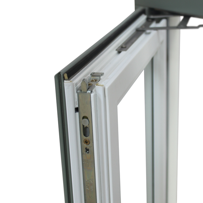 Multi-point locking system increase safety and sturdiness of the windows